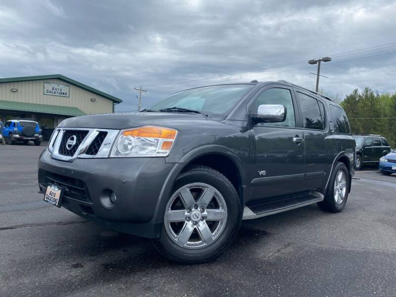 2008 Nissan Armada for sale at Lakes Area Auto Solutions in Baxter MN