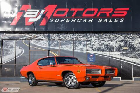 1969 Pontiac GTO for sale at BJ Motors in Tomball TX