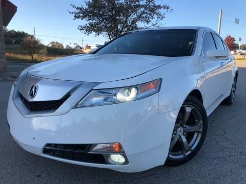 2010 Acura TL for sale at Gwinnett Luxury Motors in Buford GA