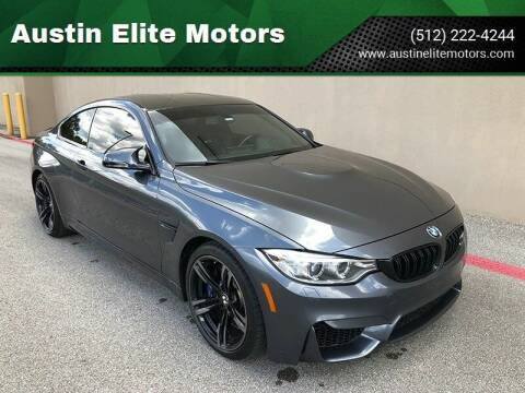 2016 BMW M4 for sale at Austin Elite Motors in Austin TX