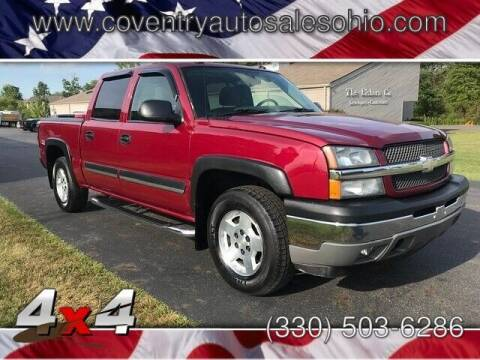 2005 Chevrolet Silverado 1500 for sale at Coventry Auto Sales in Youngstown OH