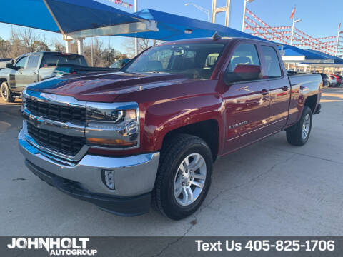 2017 Chevrolet Silverado 1500 for sale at JOHN HOLT AUTO GROUP, INC. in Chickasha OK