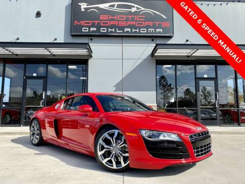 2012 Audi R8 for sale at Exotic Motorsports of Oklahoma in Edmond OK