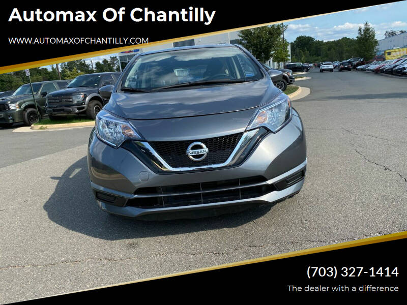 2017 Nissan Versa Note for sale at Automax of Chantilly in Chantilly VA