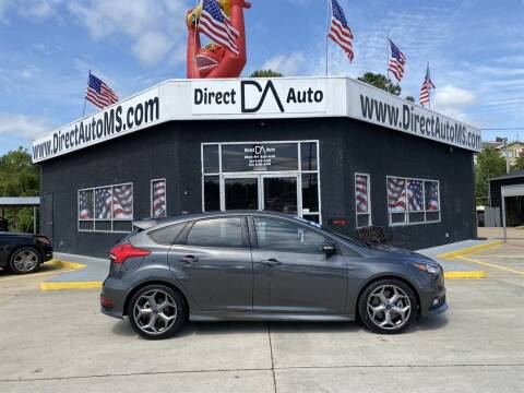 2017 Ford Focus for sale at Direct Auto in D'Iberville MS