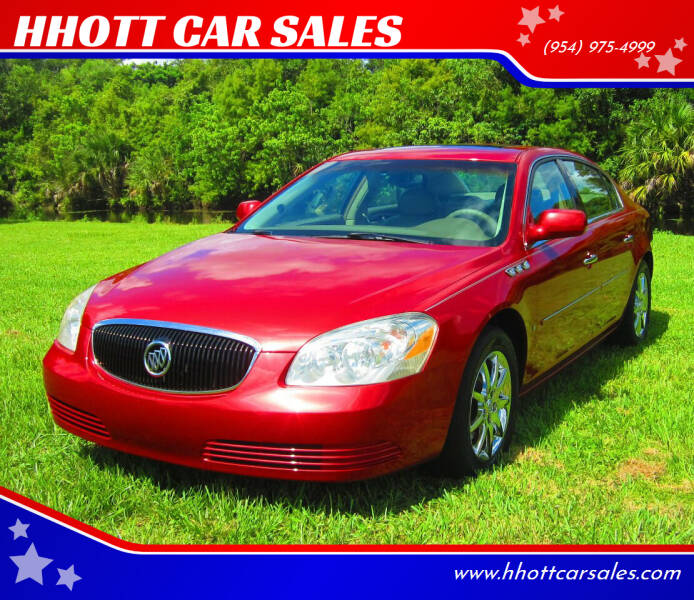 2006 Buick Lucerne for sale at HHOTT CAR SALES in Deerfield Beach FL