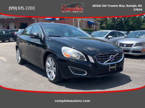 2012 Volvo S60 for sale at Complete Auto Center , Inc in Raleigh NC