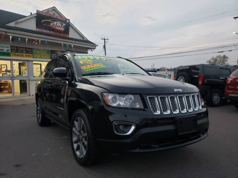 2014 Jeep Compass for sale at AME Motorz in Wilkes Barre PA