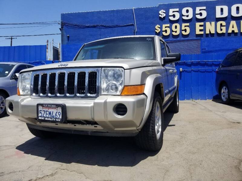 2007 Jeep Commander for sale at Best Quality Auto Sales in Sun Valley CA