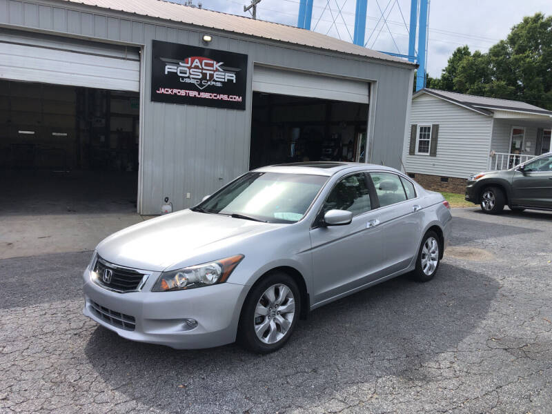 2009 Honda Accord for sale at Jack Foster Used Cars LLC in Honea Path SC