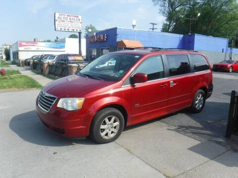 2008 Chrysler Town and Country for sale at City Motors Auto Sale LLC in Redford MI