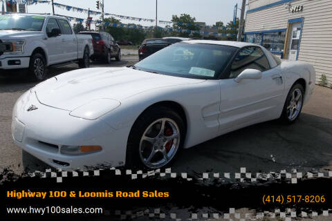 2002 Chevrolet Corvette for sale at Highway 100 & Loomis Road Sales in Franklin WI