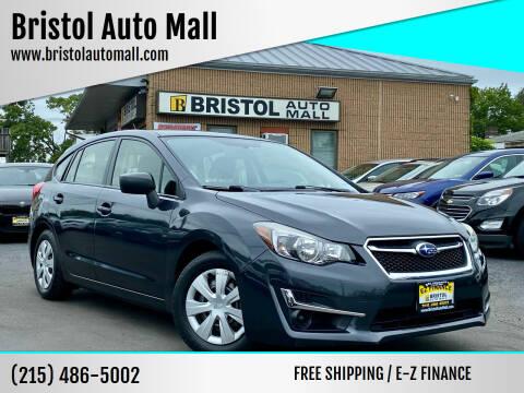 2015 Subaru Impreza for sale at Bristol Auto Mall in Levittown PA