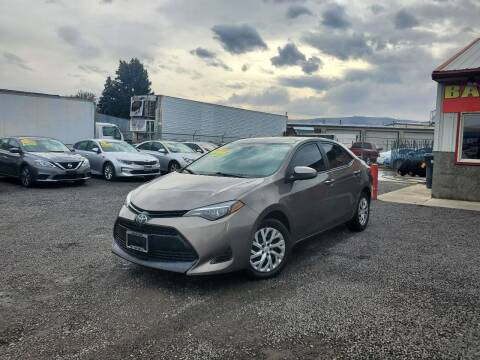 2017 Toyota Corolla for sale at Yaktown Motors in Union Gap WA