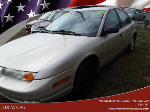 "2000 Saturn S-Series for sale at MIDWESTERN AUTO SALES        ""The Used Car Center"" in Middletown OH"