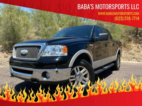2006 Ford F-150 for sale at Baba's Motorsports, LLC in Phoenix AZ