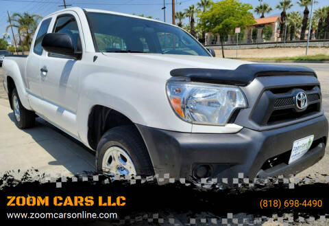 2013 Toyota Tacoma for sale at ZOOM CARS LLC in Sylmar CA