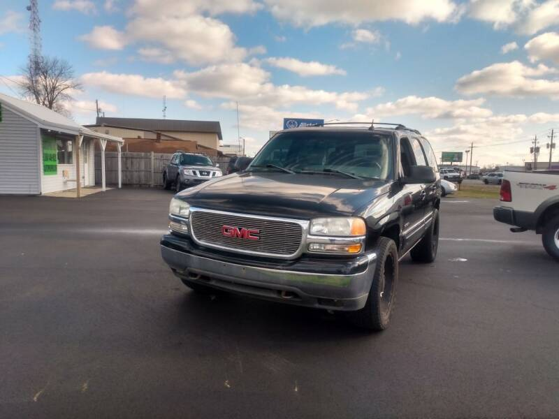 2002 GMC Yukon for sale at Auto Pro Inc in Fort Wayne IN