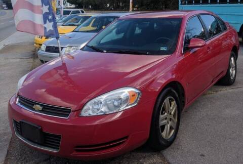 2007 Chevrolet Impala for sale at Abingdon Auto Specialist Inc. in Abingdon VA