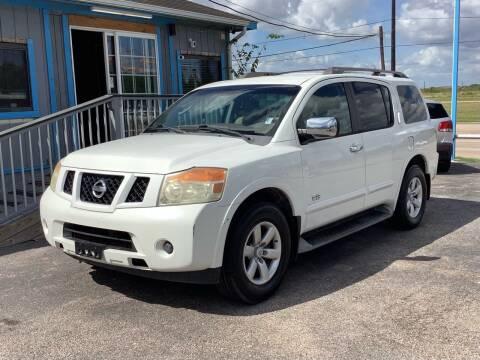 2008 Nissan Armada for sale at Auto Plan in La Porte TX