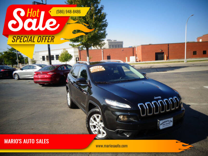 2014 Jeep Cherokee for sale at MARIO'S AUTO SALES in Mount Clemens MI