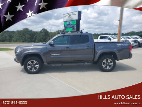 2017 Toyota Tacoma for sale at Hills Auto Sales in Salem AR