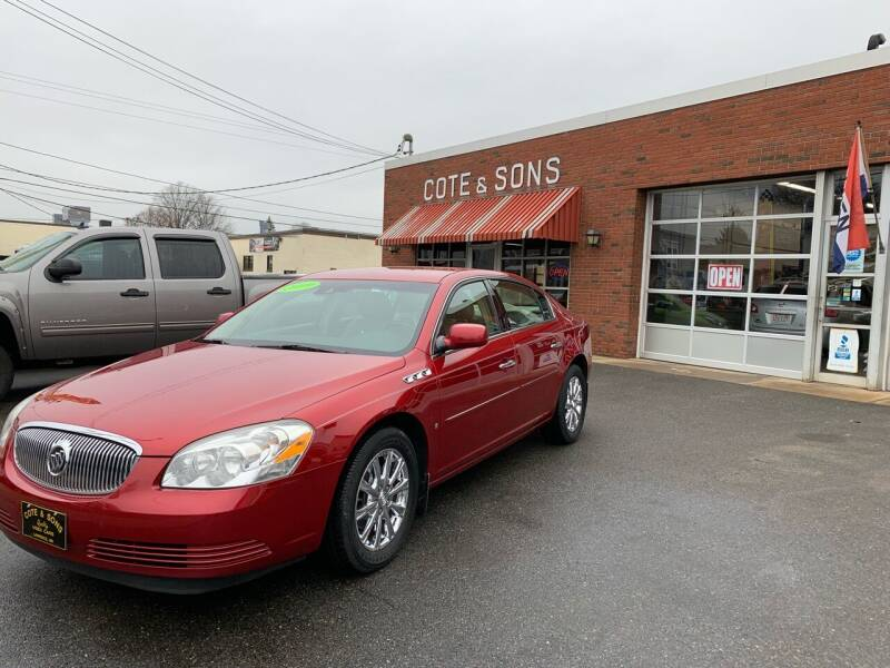 2009 Buick Lucerne for sale at Cote & Sons Automotive Ctr in Lawrence MA