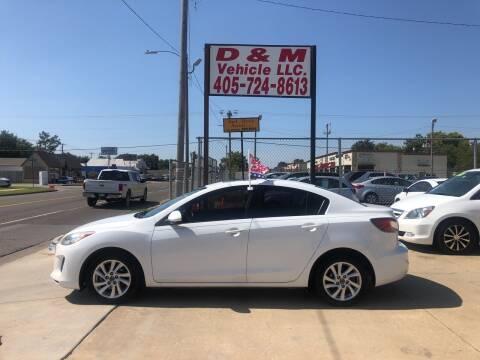 2013 Mazda MAZDA3 for sale at D & M Vehicle LLC in Oklahoma City OK
