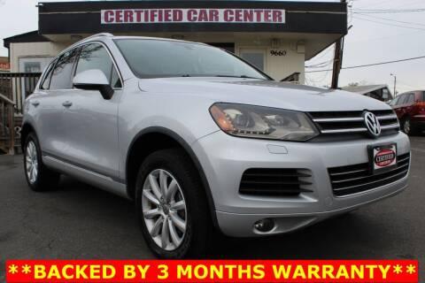 2011 Volkswagen Touareg for sale at CERTIFIED CAR CENTER in Fairfax VA