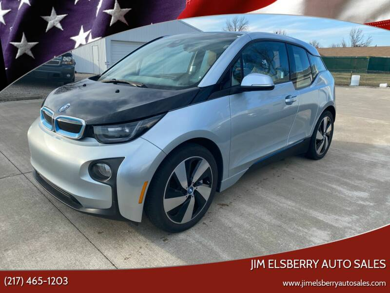 2014 BMW i3 for sale at Jim Elsberry Auto Sales in Paris IL
