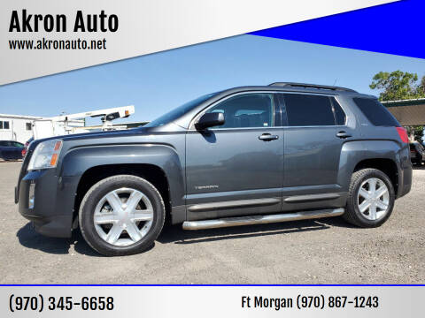 2010 GMC Terrain for sale at Akron Auto - Fort Morgan in Fort Morgan CO