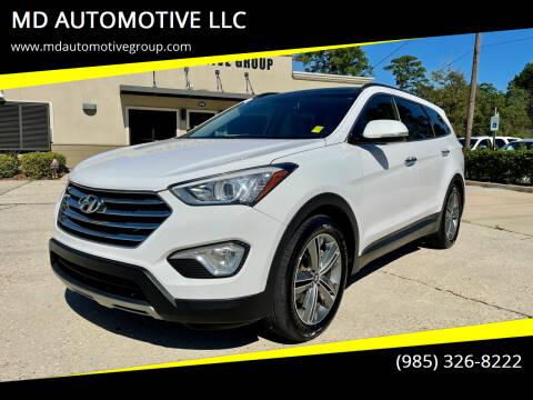 2014 Hyundai Santa Fe for sale at MD AUTOMOTIVE LLC in Slidell LA