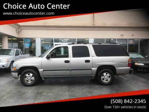 2002 Chevrolet Suburban for sale at Choice Auto Center in Shrewsbury MA