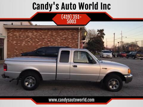 2002 Ford Ranger for sale at Candy's Auto World Inc in Toledo OH