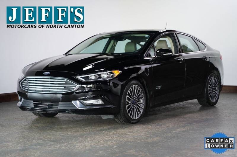 2017 Ford Fusion Energi for sale in North Canton, OH