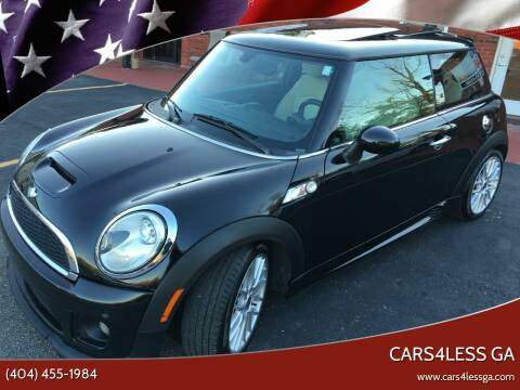 2011 MINI Cooper for sale at Cars4Less GA in Alpharetta GA
