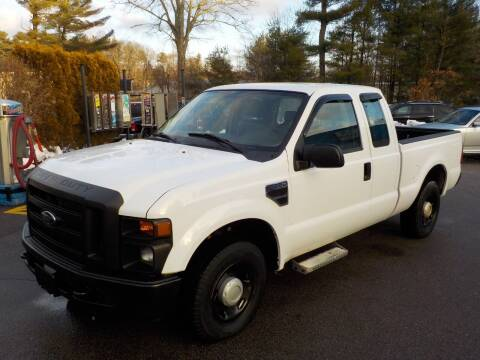 2008 Ford F-250 Super Duty for sale at RTE 123 Village Auto Sales Inc. in Attleboro MA