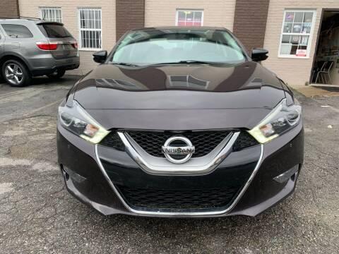 2016 Nissan Maxima for sale at A & R Motors in Richmond VA