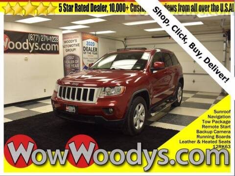 2012 Jeep Grand Cherokee for sale at WOODY'S AUTOMOTIVE GROUP in Chillicothe MO