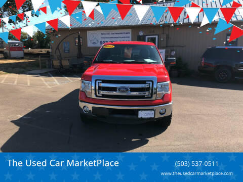 2013 Ford F-150 for sale at The Used Car MarketPlace in Newberg OR