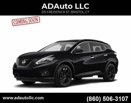 2015 Nissan Murano for sale at ADAuto LLC in Bristol CT