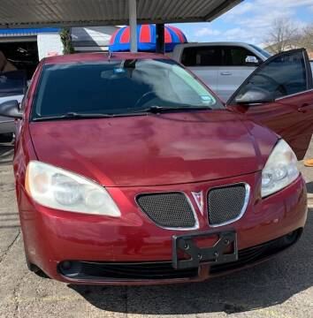 2008 Pontiac G6 for sale at East Dallas Automotive in Dallas TX
