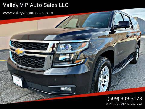 2015 Chevrolet Suburban for sale at Valley VIP Auto Sales LLC in Spokane Valley WA