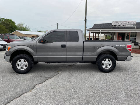 2013 Ford F-150 for sale at TAVERN MOTORS in Laurens SC