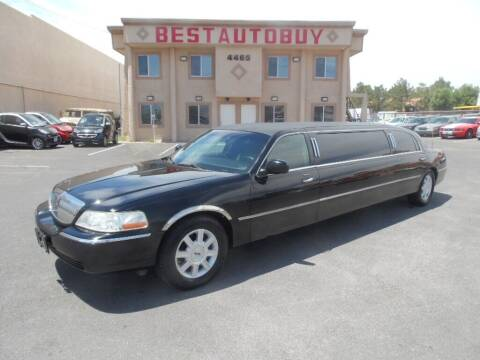 2006 Lincoln Town Car for sale at Best Auto Buy in Las Vegas NV