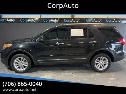 2013 Ford Explorer for sale at CorpAuto in Cleveland GA