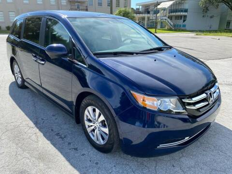 2015 Honda Odyssey for sale at Consumer Auto Credit in Tampa FL