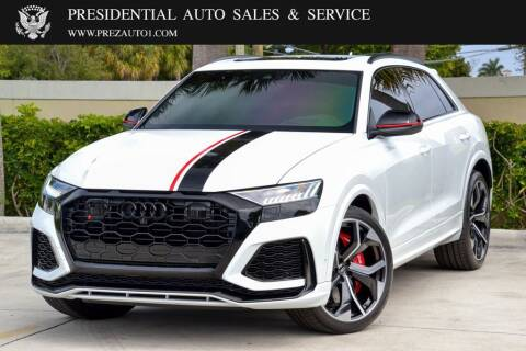 2020 Audi RS Q8 for sale at Presidential Auto  Sales & Service in Delray Beach FL