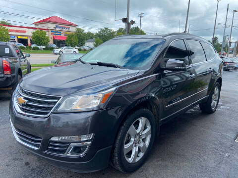 2016 Chevrolet Traverse for sale at Martins Auto Sales in Shelbyville KY