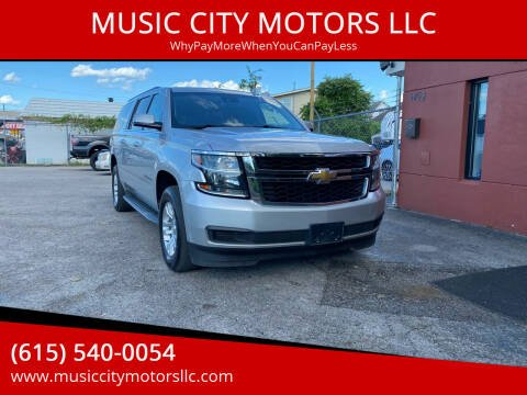 2015 Chevrolet Suburban for sale at MUSIC CITY MOTORS LLC in Nashville TN